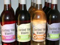 Curling Vine wines